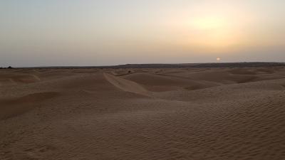 やっと来れた、砂漠!チュニジア