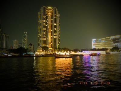初めてのBangkok ペニンシュラ4泊 OVER60夫婦旅 ② 二日目 ワットアルン、ワットポー、マッサージ