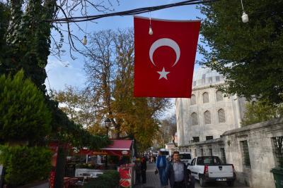 夫婦旅•38時間トランジットでイスタンブール観光