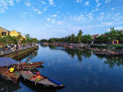 ベトナムの世界遺産ホイアン、雷と雨とランタン祭り(その2 自転車で巡る昼のホイアン旧市街)