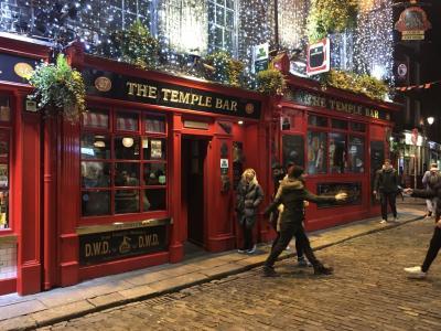 ロンドン・ナイロビ出張(その50) 13日目-5 おまけのダブリン、夜の街歩き!