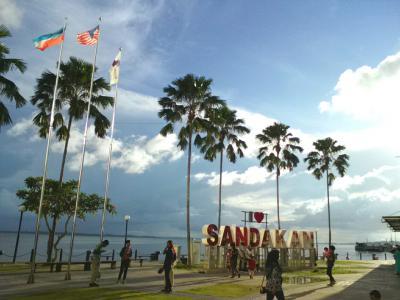 ボルネオ島東の果てに楽園を見た…のんびりくつろげる町サンダカン