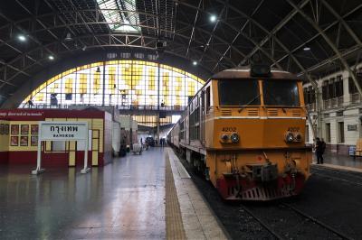 鉄道で国境を越える タイ・バンコクからマレーシア・ペナンヘ vol.1