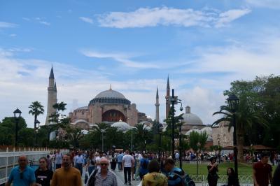 小アジア南西沿岸遺跡放浪後 イスタンブール(1)