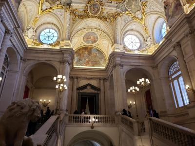 スペイン・ポルトガル旅行記 Part7:マドリードと王宮(12/29)