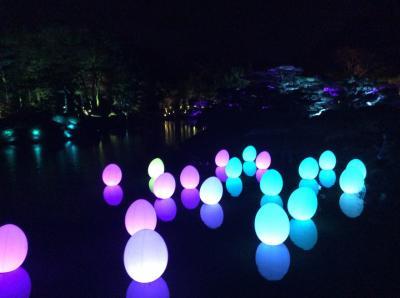 チームラボ・栗林公園・光の祭2020