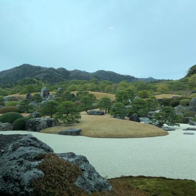 2020/1/22 - 27 広島出張終わりからの島根、鳥取旅行記 その4は足立美術館です。