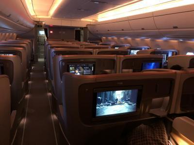 シンガポール航空 SQ633(羽田→シンガポール)/SQ632(シンガポール→羽田) A350 ビジネスクラス搭乗記