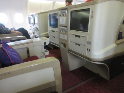 香港航空ビジネスクラス 香港から成田