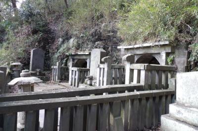 北条義時法華堂跡と三公墓-2020年冬