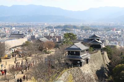 2019/2020の年末年始、5泊6日で四国4県を巡る旅 その4 道後温泉と松山城