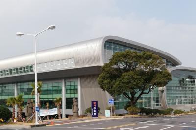 済州空港から直接帰国