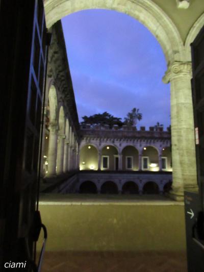 美術館?倉庫かも。。ヴェネツィア宮殿 201812クリスマスのトスカーナ⑨