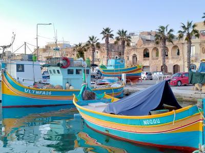 大晦日からマルタ島とキプロス島を巡るドライブ旅(猫とのふれあいも楽し♪)【1】まずは、港町マルサシュロックへ!