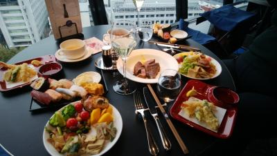 【高級ビュッフェ】ホテルニューオータニ VIEW&DINING THE Skyに行ってきた