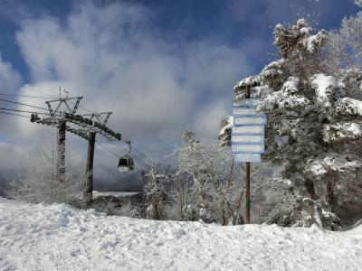栃木へ! ①まずはハンターマウンテン塩原でスキー