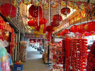 旧正月の台北