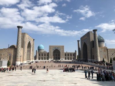 マイレージ最大限利用でウズベキスタン