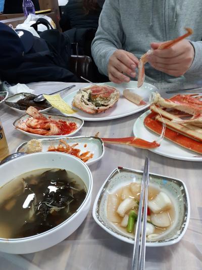 おっちゃんの釜山旅、ムスコと行く食いまくりツアー