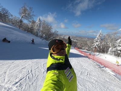 アキリンのはじめて北海道スキー