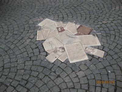 白バラ抵抗運動の場所を訪れドイツのタクシーつかまえ方を知る。