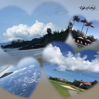 梅雨明けの沖縄でゴルフの休日 ベストスコアも更新\(^o^)/