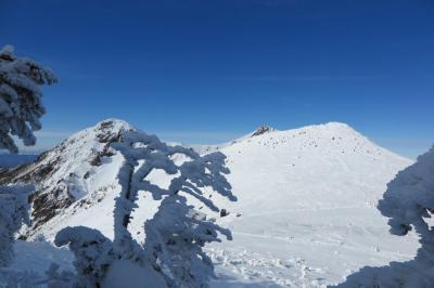 雪山を目指してぶらり