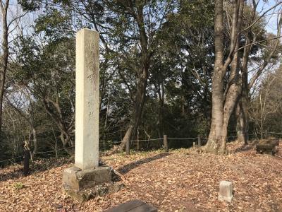 岐阜県の城跡巡り:鷺山城跡、NHK大河ドラマ「麒麟がくる」斎藤道三の隠居の城