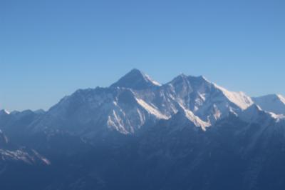 ネパール再訪、エベレスト遊覧飛行
