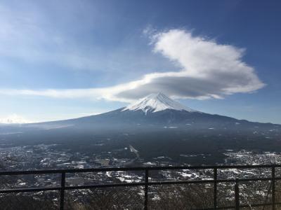 そうだ、富士山を見に行こう ①河口湖編