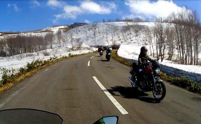 """鳥海山_Mt. Chokai 鳥海ブルーラインも""""雪の回廊""""!東北を代表する絶景ツーリングルート"""
