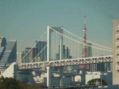 久しぶりに新橋よりゆりかもめに乗りました