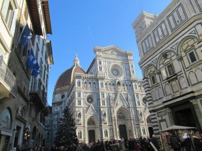 年末年始はイタリアで③イタロでヴェネツィアからフィレンツェへ&ウフィツィ美術館&年越し編