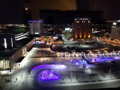 消化試合の函館からの「サッポロ雪まつり」