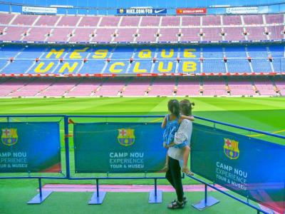 【5歳&7歳】子連れスペイン旅行⑦ -ボケリア市場で食べ歩き&FCバルセロナのホームスタジアムへ-