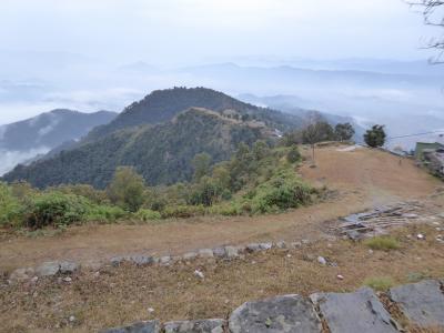 ネパール再訪 4日目 トウラコットの丘