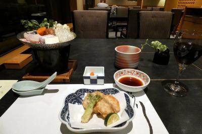 沼津で過ごす週末 沼津リバーサイドホテル 日本料理 かの川の夕食