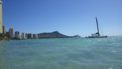 寒い日本から離れてハワイへ!!