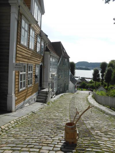 5歳娘を連れて夏休みスウェーデン・ノルウェー11日間の旅10-ガミーベルゲン博物館とフィッシャーマンズミュージアム