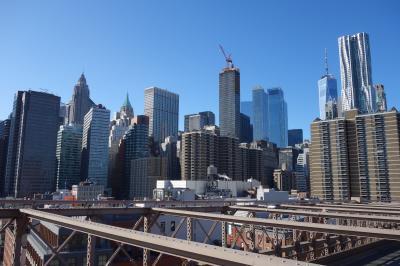 真冬のニューヨーク ハイラインとブルックリン大橋