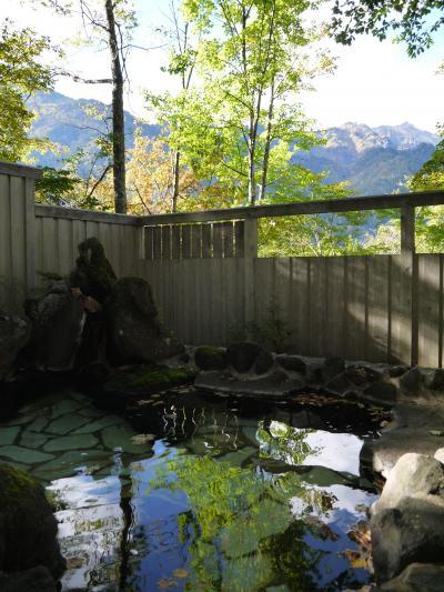 「山の旅舎 中尾平」で貸切風呂を堪能