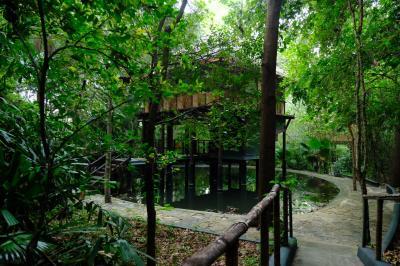 ダンブッラのジャングルの中のアートホテルはめちゃくちゃエコだった