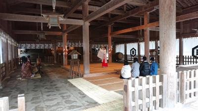 3泊4日 倉敷・島根 (10-10) 旅の終わりは美保神社で巫女の舞
