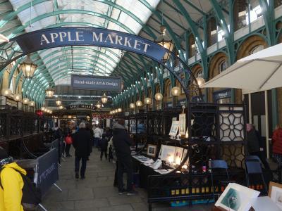 London(1.3) Covent Garden は変化がはげしい。最新のお店がいっぱい。
