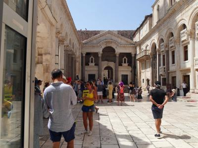 喜寿記念スロヴェニア・クロアチア12日間旅行記⑯スプリトの街歩き
