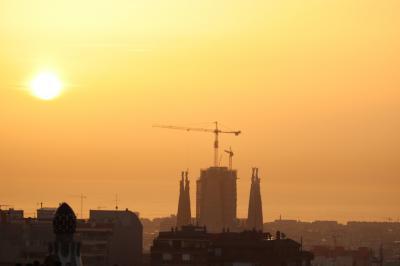 バルセロナ 冬の世界遺産 3日目