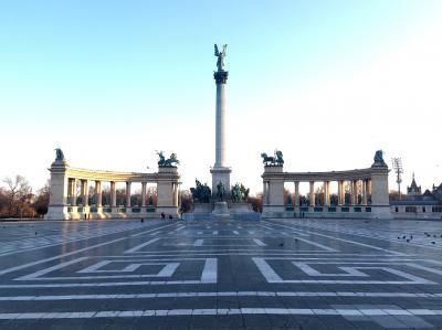 南中欧等5カ国旅行 1日目午前(ブダペスト散策)