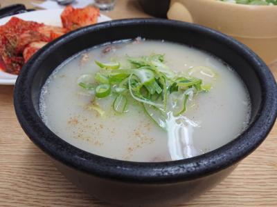 ソルロンタンが食べたくて…2020年2月 ソウル週末グルメ旅行