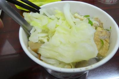 1泊6日 台湾貧乏旅行 台湾四日目・快晴だぁ8(基隆駅付近で食事し、金瓜石へのバスに乗る)