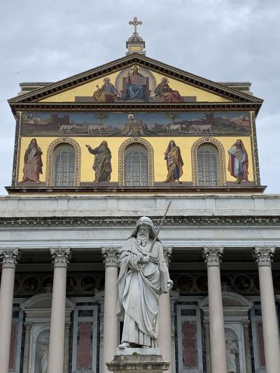暮らすようにローマ教会巡り(5)四大聖堂